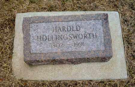 HOLLINGSWORTH, HAROLD - Keya Paha County, Nebraska   HAROLD HOLLINGSWORTH - Nebraska Gravestone Photos
