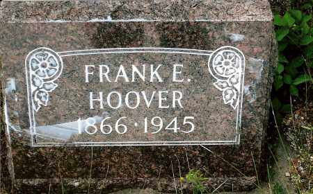 HOOVER, FRANK E. - Keya Paha County, Nebraska | FRANK E. HOOVER - Nebraska Gravestone Photos