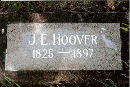 HOOVER, J.E. - Keya Paha County, Nebraska | J.E. HOOVER - Nebraska Gravestone Photos