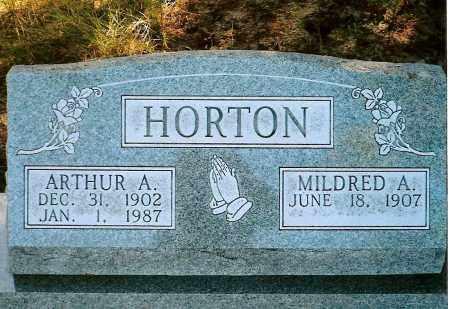 HORTON, ARTHUR A. - Keya Paha County, Nebraska | ARTHUR A. HORTON - Nebraska Gravestone Photos