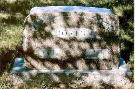 HORTON, EDITH - Keya Paha County, Nebraska | EDITH HORTON - Nebraska Gravestone Photos