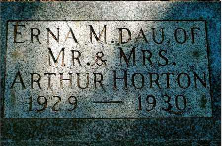 HORTON, ERNA M. - Keya Paha County, Nebraska   ERNA M. HORTON - Nebraska Gravestone Photos