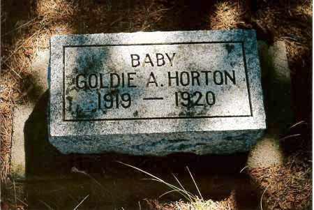 HORTON, GOLDIE A. - Keya Paha County, Nebraska | GOLDIE A. HORTON - Nebraska Gravestone Photos