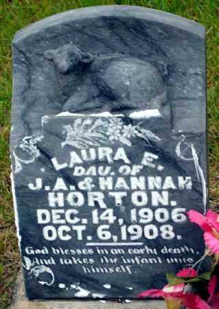 HORTON, LAURA E. - Keya Paha County, Nebraska | LAURA E. HORTON - Nebraska Gravestone Photos