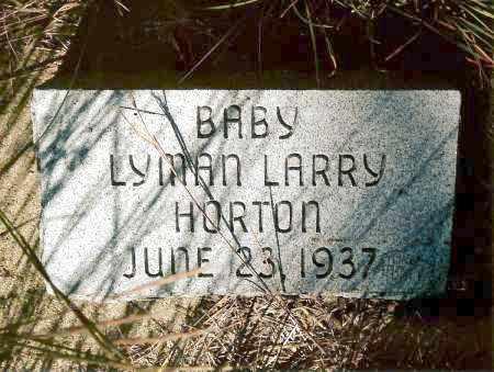 HORTON, LYMAN - Keya Paha County, Nebraska   LYMAN HORTON - Nebraska Gravestone Photos