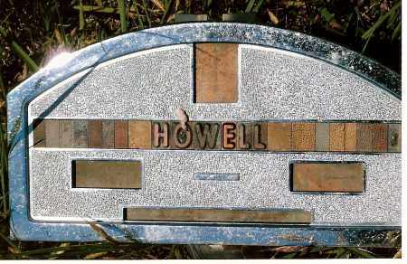 HOWELL, ??? - Keya Paha County, Nebraska | ??? HOWELL - Nebraska Gravestone Photos