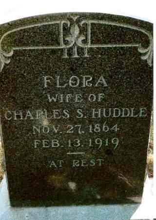HUDDLE, FLORA - Keya Paha County, Nebraska | FLORA HUDDLE - Nebraska Gravestone Photos