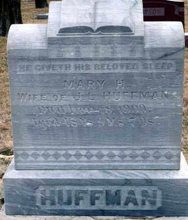 HUFFMAN, MARY  H. - Keya Paha County, Nebraska   MARY  H. HUFFMAN - Nebraska Gravestone Photos