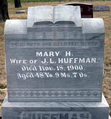 HUFFMAN, MARY H. - Keya Paha County, Nebraska | MARY H. HUFFMAN - Nebraska Gravestone Photos