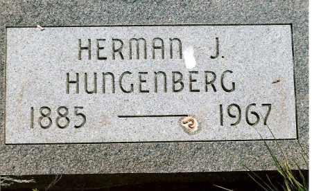 HUNGENBERG, HERMAN J. - Keya Paha County, Nebraska   HERMAN J. HUNGENBERG - Nebraska Gravestone Photos