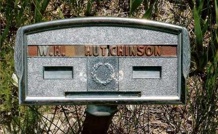 HUTCHINSON, W.H. - Keya Paha County, Nebraska | W.H. HUTCHINSON - Nebraska Gravestone Photos