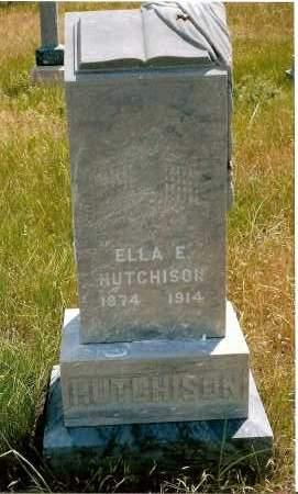 HUTCHISON, ELLA E. - Keya Paha County, Nebraska | ELLA E. HUTCHISON - Nebraska Gravestone Photos