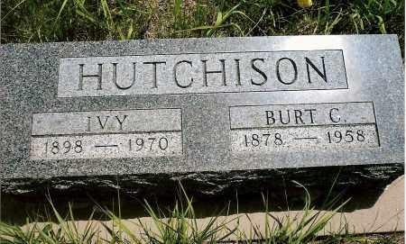HUTCHISON, IVY - Keya Paha County, Nebraska | IVY HUTCHISON - Nebraska Gravestone Photos