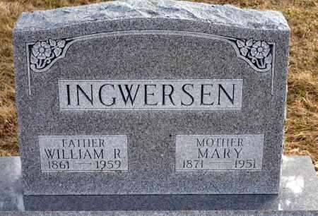 INGWERSEN, MARY - Keya Paha County, Nebraska | MARY INGWERSEN - Nebraska Gravestone Photos