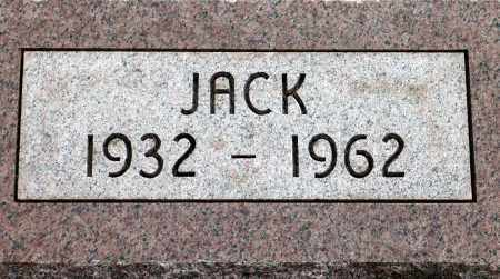 JACK, SOLES - Keya Paha County, Nebraska | SOLES JACK - Nebraska Gravestone Photos