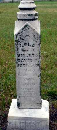 JACKSON, LOLA - Keya Paha County, Nebraska   LOLA JACKSON - Nebraska Gravestone Photos