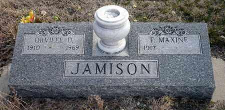 JAMISON, F. MAXINE - Keya Paha County, Nebraska | F. MAXINE JAMISON - Nebraska Gravestone Photos