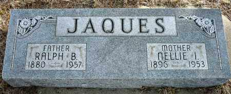JAQUES, RALPH B. - Keya Paha County, Nebraska | RALPH B. JAQUES - Nebraska Gravestone Photos