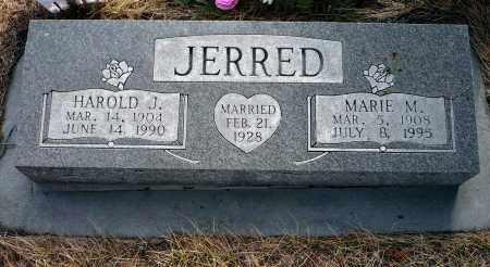 JERRED, HAROLD J. - Keya Paha County, Nebraska   HAROLD J. JERRED - Nebraska Gravestone Photos