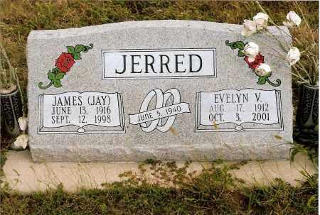 JERRED, EVELYN V. - Keya Paha County, Nebraska | EVELYN V. JERRED - Nebraska Gravestone Photos