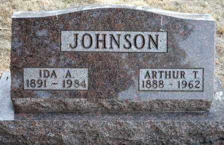 JOHNSON, IDA AUGUSTA - Keya Paha County, Nebraska | IDA AUGUSTA JOHNSON - Nebraska Gravestone Photos