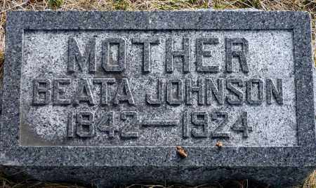 JOHNSON, BEATA - Keya Paha County, Nebraska | BEATA JOHNSON - Nebraska Gravestone Photos