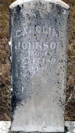 JOHNSON, CAROLINE - Keya Paha County, Nebraska | CAROLINE JOHNSON - Nebraska Gravestone Photos