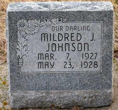 JOHNSON, MILDRED J. - Keya Paha County, Nebraska | MILDRED J. JOHNSON - Nebraska Gravestone Photos