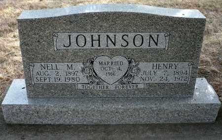 JOHNSON, HENRY - Keya Paha County, Nebraska | HENRY JOHNSON - Nebraska Gravestone Photos