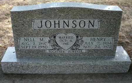 CARR JOHNSON, NELL M. - Keya Paha County, Nebraska | NELL M. CARR JOHNSON - Nebraska Gravestone Photos