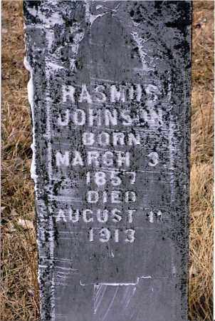 JOHNSON, RASMUS - Keya Paha County, Nebraska | RASMUS JOHNSON - Nebraska Gravestone Photos