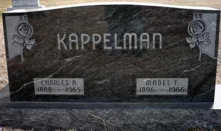 KAPPELMAN, CHARLES A. - Keya Paha County, Nebraska | CHARLES A. KAPPELMAN - Nebraska Gravestone Photos