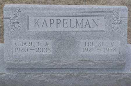 KAPPELMAN, LOUISE VIRGINIA - Keya Paha County, Nebraska | LOUISE VIRGINIA KAPPELMAN - Nebraska Gravestone Photos