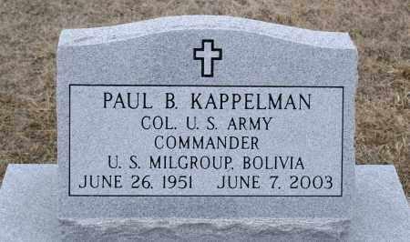 KAPPELMAN, PAUL B. - Keya Paha County, Nebraska | PAUL B. KAPPELMAN - Nebraska Gravestone Photos
