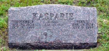 KASPARIE, THEODORE R. - Keya Paha County, Nebraska | THEODORE R. KASPARIE - Nebraska Gravestone Photos