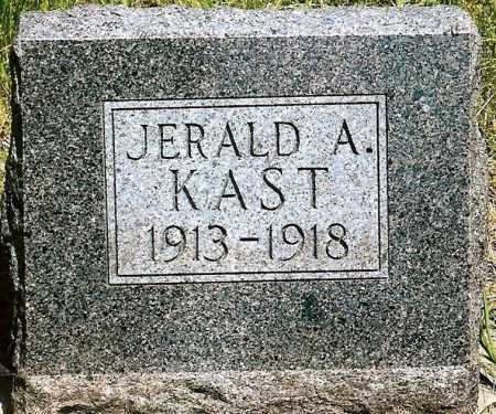 KAST, JERALD A. - Keya Paha County, Nebraska | JERALD A. KAST - Nebraska Gravestone Photos