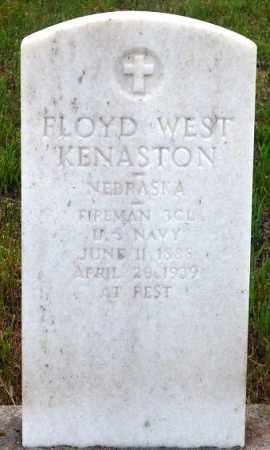 KENASTON, FLOYD W. - Keya Paha County, Nebraska | FLOYD W. KENASTON - Nebraska Gravestone Photos