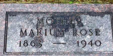 KENASTON, MARIUM ROSE - Keya Paha County, Nebraska | MARIUM ROSE KENASTON - Nebraska Gravestone Photos