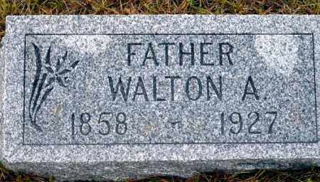 KENASTON, WALTON A. - Keya Paha County, Nebraska | WALTON A. KENASTON - Nebraska Gravestone Photos