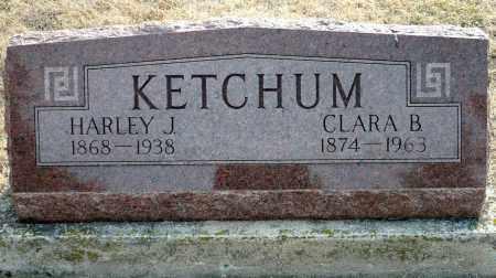 DEWEY KETCHUM, CLARA B. - Keya Paha County, Nebraska | CLARA B. DEWEY KETCHUM - Nebraska Gravestone Photos