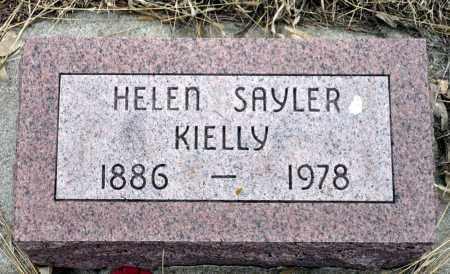KIELLY (SAYLER), HELEN - Keya Paha County, Nebraska | HELEN KIELLY (SAYLER) - Nebraska Gravestone Photos