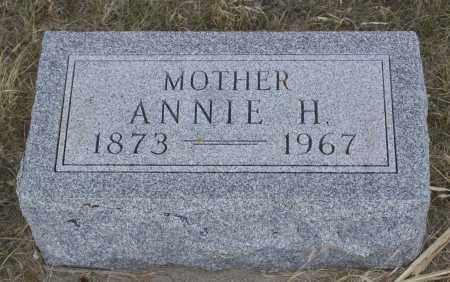 KIENKE, ANNIE H. - Keya Paha County, Nebraska | ANNIE H. KIENKE - Nebraska Gravestone Photos