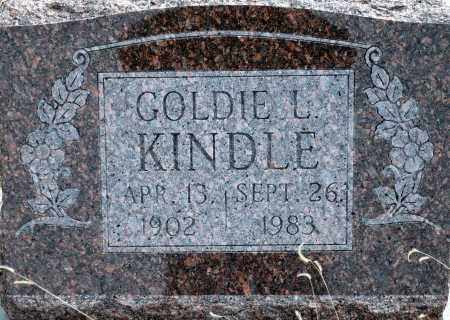 GIBSON KINDLE, GOLDIE L. - Keya Paha County, Nebraska | GOLDIE L. GIBSON KINDLE - Nebraska Gravestone Photos
