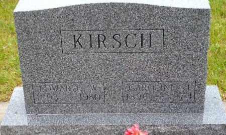 HORTON KIRSCH, CAROLINE - Keya Paha County, Nebraska | CAROLINE HORTON KIRSCH - Nebraska Gravestone Photos