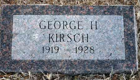 KIRSCH, GEORGE H. - Keya Paha County, Nebraska | GEORGE H. KIRSCH - Nebraska Gravestone Photos