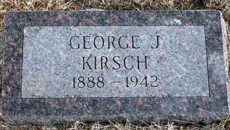KIRSCH, GEORGE J. - Keya Paha County, Nebraska | GEORGE J. KIRSCH - Nebraska Gravestone Photos