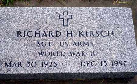 KIRSCH, RICHARD H. - Keya Paha County, Nebraska | RICHARD H. KIRSCH - Nebraska Gravestone Photos