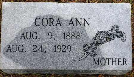 KURZENBERGER, CORA  ANN - Keya Paha County, Nebraska | CORA  ANN KURZENBERGER - Nebraska Gravestone Photos