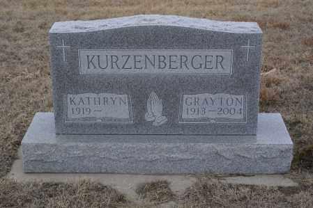 KURZENBERGER, GRAYTON - Keya Paha County, Nebraska | GRAYTON KURZENBERGER - Nebraska Gravestone Photos