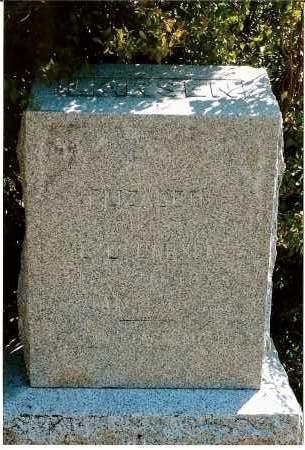 LARSEN, ELIZABETH - Keya Paha County, Nebraska   ELIZABETH LARSEN - Nebraska Gravestone Photos